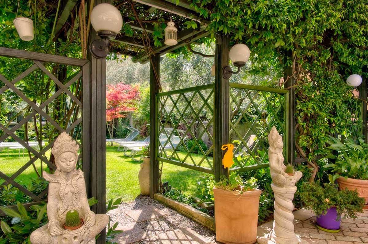 Garten Hotel Erika Gardasee Italien